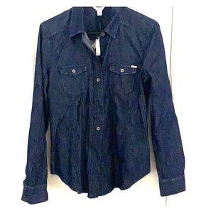 Calvin Klein Denim button up shirt